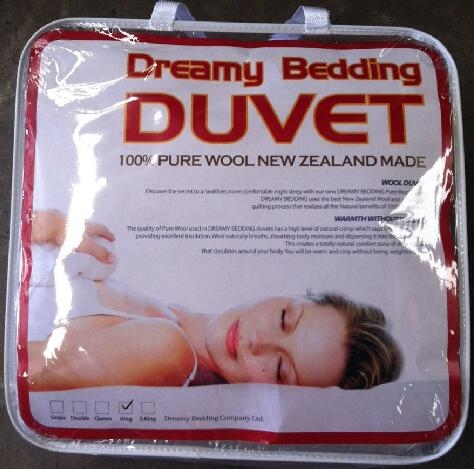 【新西兰仓】 Dreamy bedding 公主羊毛被 (King Size )  2.4m*2.1m