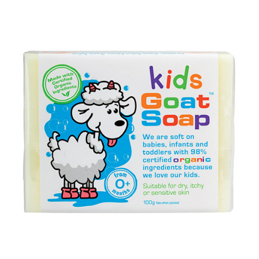 【新西兰仓】Kids Goat Soap 天然儿童羊奶皂 100g