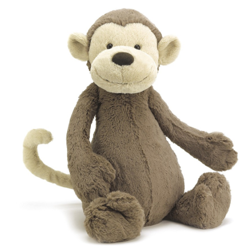 【新西兰仓】Jellycat Bashful Monkey 猴子毛绒公仔